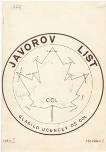 javorov.list